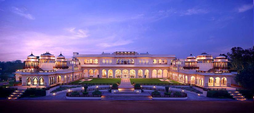 Destination Weddings at Taj Rambagh Palace Jaipur