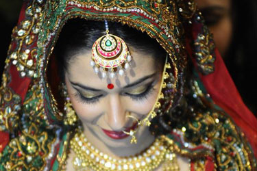 Bridal Makeup on Wedding Day