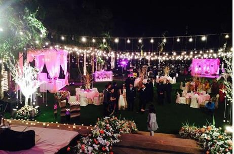 Best wedding planners in india top 10 destination wedding decorator indian wedding planners creates floral extravaganza for roka ceremony junglespirit Images